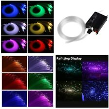 2M Car Ceiling Light Fiber Optic Star Kit RGBW Led Light for Car interior Decor