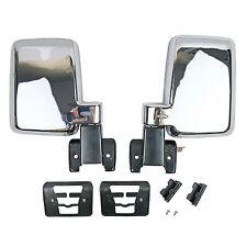 1 Set Manual Door Side Mirror Fits Land Cruiser 60 FJ60 FJ62 BJ62 HJ61 1980-89