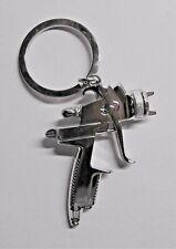 SPRAY PAINT Gun Silver Metal KEY CHAIN Ring Pendant KEYCHAIN Accessories NEW