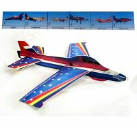 Large Super Glider 18'' Wingspan Flying Foam Jet Aircraft Performance Toy Plane