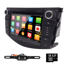 "Camera+ Car DVD Player GPS for RAV Head Unit Stereo 7"" Radio Navigation Digital"