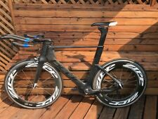 2012 Blue Triad SL Triathlon Time Trial Bike Size Large With Zipp Wheelset