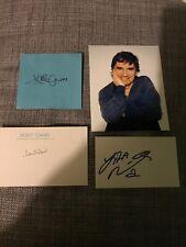 Dudley Moore, Liza Minnelli & Sir John Gielgud Signed ARTHUR (1981) Autograph