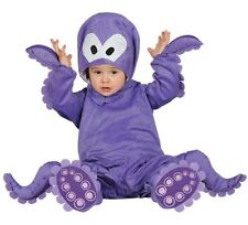 Baby Girls Boys Octopus Under The Sea Fancy Dress Costume Outfit 6-12-24 months