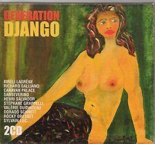 2 CD COMPIL 27 TITRES--GENERATION DJANGO--LAGRENE/GALLIANO/SALVADOR/GRESSET