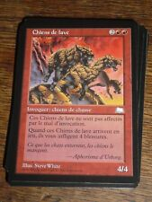 MTG Magic the Gathering CHIENS DE LAVE Weatherlight FR RARE NEW