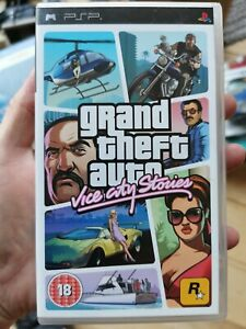 Grand Theft Auto: Vice City Stories - Sony PSP Game - Complete CIB
