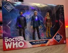 More details for the 3rd doctor collector figure set jo grant the master b&m