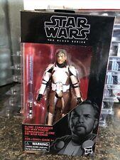 "Star Wars The Black Series 6"" Clone Commander Obi-Wan Kenobi Action Figure"