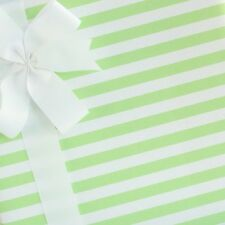Candy Striped Wrapping Paper / Gift Wrap - Gelato Green - by SmashCake & Co.