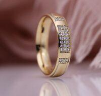 Ring Gr.56 53 60 Fingerring Gold gefüllt Roségold 585 Zirkonia rosé Goldring
