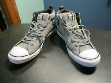 size 11 mens / 13 womens gray Chuck Taylor CONVERSE ALL STAR shoes - ONE STAR