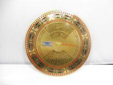 VINTAGE EASTERN AIRLINES PERPETUAL BRASS CALENDER W PRESENTATION BOX