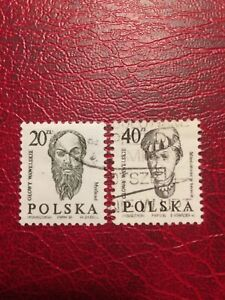 Poland Stamps 1986 USED Head Sculptures From Wawel Castle In Krakow (d)