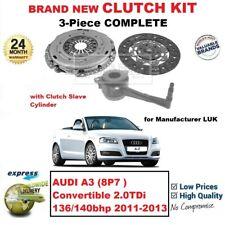 Para Audi A3 8P7 Descapotable 2.0TDi 136/140bhp 2011-2013 Nuevo 3 Piezas Kit de