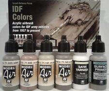 Vallejo acrylic paint set 71.210, IDF colors.
