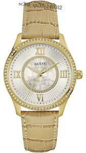 AUTHENTIC GUESS LADIES' BROADWAY WATCH W0768L2 RRP:$329 Brand New