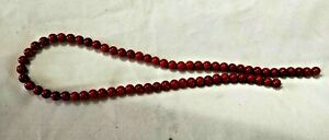 """Red River Stone Beads 5 mm 16"""" Strand"""