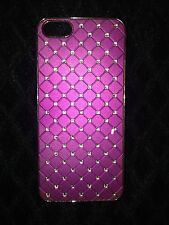 Purple Studded iPhone 5 Case