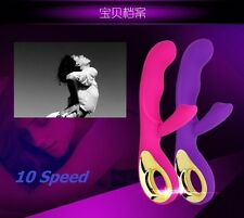 10 Speeds Massager Super Powerful Wave Motion Vibrating Massage Magic Toy