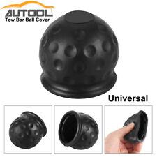 50mm Rubber Black Tow Bar Ball Towball Protector Cover Cap Hitch Caravan Trailer