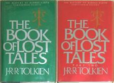BOOK OF LOST TALES 1 & 2  ~ JRR Tolkien ~ HISTORY OF MIDDLE EARTH 1/1st Print HC