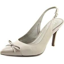 Zapatos de tacón de mujer de piel color principal gris talla 37