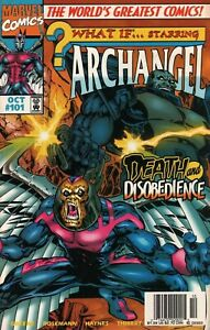 1997 October What If...Starring Archangel Marvel Comic Book #101