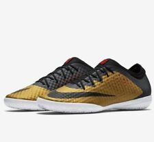 Nike MercurialX Finale IC - UK 10.5 EUR 45.5 Black Gold New Astro 725242 706