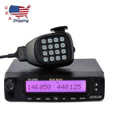 Dual-Band 50W VHF UHF 40W Car/Truck Ham Mobile Transceiver Two Way Radio CE FCC