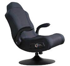 X Rocker-Commander Rocker Videospiel Klappstuhl 2.1 kabelgebundene Audio System-schwarz