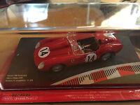 "DIE CAST "" FERRARI 250 TESTAROSSA 24H LE MANS 1958 N° 14 "" FERRARI RACING 1/43"