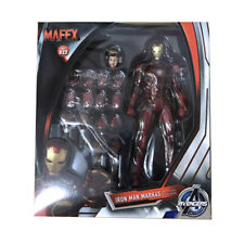 Mafex NO 022 Iron Man Mark 45 Marvel Avengers PVC Action Figures Medicom KO Toy