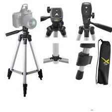 "Full Size 50"" Tripod W/Leveler Adjust & Carrying Case for DSLR Cameras FREE SHIP"