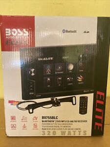 Boss BV755BLC DVD receiver with rear-view camera