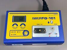 Hakko Fg 101 Digital Soldering Iron Tester Thermometer