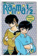 Ranma 1/2 #3 Part 2  1993 VF+ (Viz)