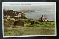 1933 Killiney Hill Dalkey Island Ireland Real Photo Postcard RPPC Cover