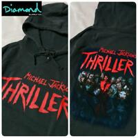 MICHAEL JACKSON THRILLER PIGMENT DYE HOODIE MEN MEDIUM DIAMOND SUPPLY HALLOWEEN