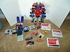 Transformers Armada Optimus Prime Jetfire Overload