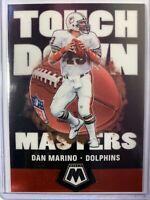 2020 Panini Mosaic Touchdown Masters Dan Marino #TM12 Miami Dolphins