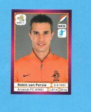 PANINI-EURO 2012-Figurina n.189- VAN PERSIE - OLANDA -NEW-DARK BOARD
