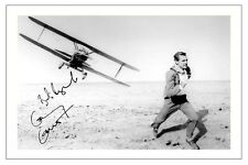 CARY GRANT - NORTH BY NORTH WEST SIGNED PHOTO PRINT AUTOGRAPH