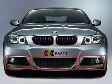 BMW NEW GENUINE E90 E91 3 SERIES M SPORT 08-11 LCI FRONT BUMPER LOWER GRILL SET