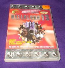 HELLBLOCK 13 DVD LIKE NEW REGION 4 TROMA TRIBE