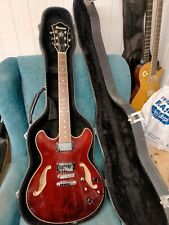 More details for ibanez artcore (semi hollow body guitar) with hard case!