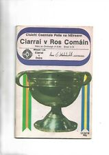 1980 GAA Football all ireland final Kerry V Roscommon minor Kerry V Derry