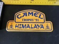 h21 Adesivo Sticker   CAMEL TROPHY       '91     himalaya  mint