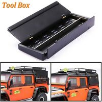 DIY Simulation Tool Box Openable Case For 1/10 Traxxas TRX4 Land Rover D90 D110