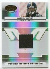2006 LEAF CERTIFIED MATERIALS JERSEY RC #218 Omar Jacobs #741/1400
